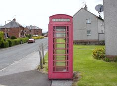 Phone booth at Cresswell