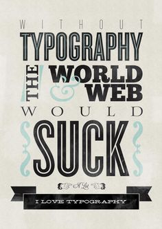 Typo poster #webdesign #design #designer #inspiration #user #interface #ui #typography #posters #type #fonts