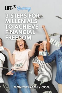Taking the right steps now towards financial freedom can be crucial for having the future that you want. Click the photo to learn more about the 3 Steps for Millenials to Achieve Financial Freedom. #ideas #finance #financialfreedom #tips #money #howto #financialplanning #savings #investing #budgeting #makemoney #hustle Make Money Blogging, Earn Money, How To Make Money, Financial Tips, Financial Planning, Work Colleague, Business And Economics, Early Retirement, Budgeting Money