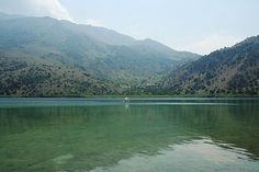 Kournas: The only sweet water lake on Crete