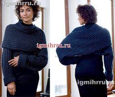 Картинки по запросу из объемной пряжи свитер в бифри