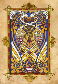 Birds of Paradise — Michael Carroll Celtic Design