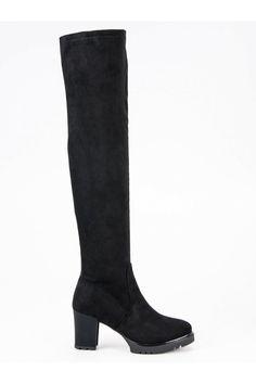 Semišové čižmy na platforme CnB Knee Boots, Platform, Sexy, Shoes, Fashion, Knee High Wedge Boots, Shoes Outlet, Fashion Styles, Shoe