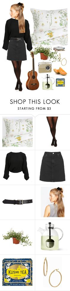 """""""weekend på hjemmet"""" by mariaskovbjerg ❤ liked on Polyvore featuring Topshop, Barneys New York, ASOS, Kusmi Tea, FRUIT, Bony Levy, women's clothing, women, female and woman"""