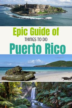 Epic travel guide of things to do in Puerto Rico - Puerto Rico is a large territory, and as such, there really is something for everyone here. There's more than just the main island to explore, with several smaller islands within easy reach of Puerto Rico