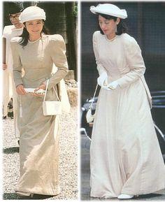 Crown princess and Princess Kiko