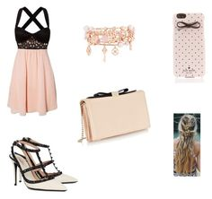 """""""Aria pretty little liars"""" by baileykl on Polyvore featuring Valentino, See by Chloé, Henri Bendel and Kate Spade"""