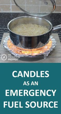 Wax candles may be a valuable addition to your emergency fuel storage to ensure that basic fuel needs are safely met when disaster strikes. Small Candles, Best Candles, Tea Light Candles, Tea Lights, Emergency Candles, Emergency Lighting, Paraffin Candles, Emergency Preparation, Candle Containers