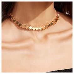 "Shop Women's Boutique size Various Necklaces at a discounted price at Poshmark. Description: Chunky Star Chain Choker --- Fashion Jewelry --- Gold Plated --- Heavy / Great Quality --- 11""-15"" adjustable length --- Listing is for one necklace --- Drawer 5. Sold by kalifreshness. Fast delivery, full service customer support."