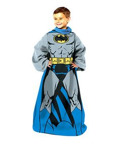 Another great find on #zulily! Batman Sleeved Blanket - Kids by The Northwest Company #zulilyfinds