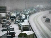 2005 - door novembersneeuwstormen in Nederland de langste file ooit: 802 km in totaal