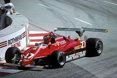 Gilles Villeneuve, Ferrari 126C2, Long Beach 1982