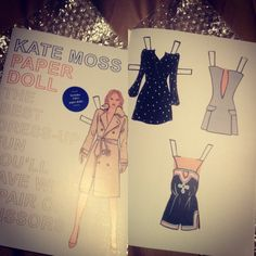 STACY IGEL: Midnight Inspirations: Paper dolls & Kate Moss