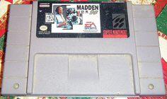 Madden '96 SNES Super Nintendo (Cartridge Only)