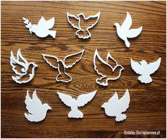 Gołębie styropianowe są doskonałą dekoracją dla uroczystości komunijnych i weselnych. Szeroki wybór gołębi pozwala na stworzenie unikatowej kompozycji.