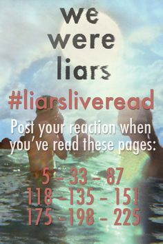When I read page five I was shocked, but as I started reading ahead I understood what she felt the other pages just made me cry mostly page 225 Book Tv, Book Club Books, Good Books, My Books, Books To Read, Book List Must Read, Book Lists, We Were Liars, Favorite Book Quotes