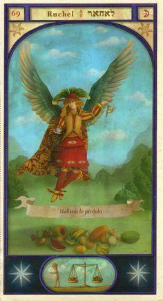 (69) RAHAEL (Kabbalistic angel) protects those born 01 - 05 March, enables the finding of lost objects. (ángel Cabalístico) protege aquellos nacidos 01 - 05 marzo, permite encontrar objetos perdidos.                                                                                                                                                                                 Más