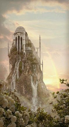 Alfheim. The white tower. North-east of river town.