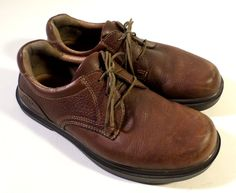 Mens Size 8 Brown Leather Kalso EARTH Shoes, Casual or Dress, Oxfords