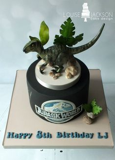 Jurassic World Raptor Cake