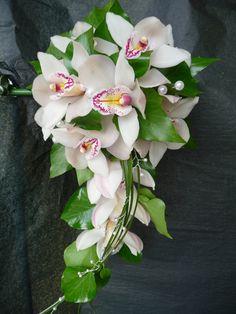 contemporary orchid floral arrangements | flowers plymouth, florists plymouth, florists st judes, flowers st ...