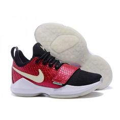 fadeebd6563a NikeID PG 1 Custom Men s Black Burgundy