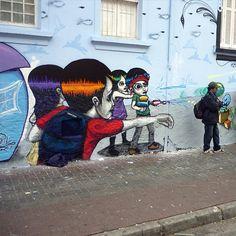 Le street-art de Tinho !