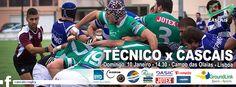 JOGOS FIM DE SEMANA 09 E 10 JANEIRO - Cascais Rugby