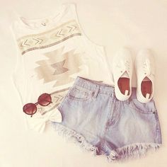 Casual style.