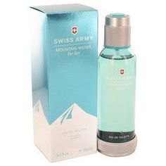 Swiss Army Mountain Water by Swiss Army Eau De Toilette Spray 3.4 oz (Women)