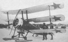 Red Army Sopwith Triplane fighter - Civil War in Russia 1917-1920