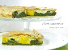Torta Pascualina (tarta salada de verdura y huevos) - http://www.thermorecetas.com/2014/04/18/torta-pascualina-tarta-salada-de-verdura-y-huevos/