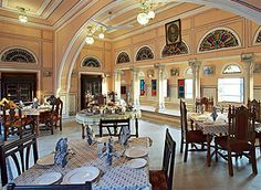 The #RajmahalPalace is exotic attraction of a #HeritageHotelinRajasthan. All rooms come fully furnished with facilities like Sunbathing and cocktails on the riverside beach. Enjoy Rajasthani, Mughlai and Continental food while your stay. Know more about our services and facilities @ http://bit.ly/21j6fhU #HeritageHotelinJaipur