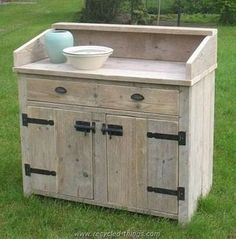 Pallet Cabinet or Desk More