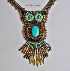 Image result for necklace bead embroidery