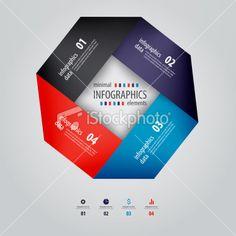 Minimal infographics design. Vector Royalty Free Stock Vector Art Illustration