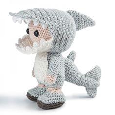 Shark-A-Jack Amigurumi US Pattern now available on Amiegurumipatterns.net