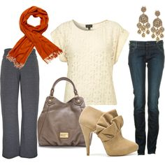 """Fall"" by mammaram on Polyvore.  Cute and fun!"