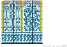 Crochet Mittens Free Pattern, Knit Mittens, Knitted Gloves, Knitting Socks, Knitting Charts, Knitting Patterns, Knit Art, Graph Design, Fair Isle Knitting
