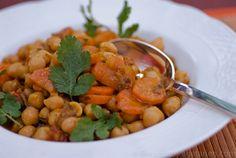 Curry de Pois Chiches, Recette Vegan