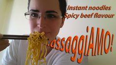#instant #noodles #spicy #beef #flavour #assaggiamo #tasting #eat #food #cibo #mangiare #manzo #speziato