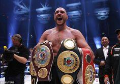 Last November, Fury beat Klitschko to win the WBA, IBF and WBO heavyweight belts