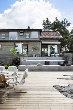 Pergola Ideas For Patio House Exterior, Scandinavian Garden, Elle Decor, Outdoor Decor, Summer House, Balcony Decor, Diy Pergola, Covered Back Patio, Deck Designs Backyard