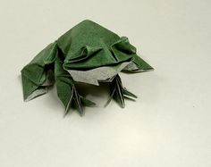 Origami Frog                                                                                                                                                                                 More