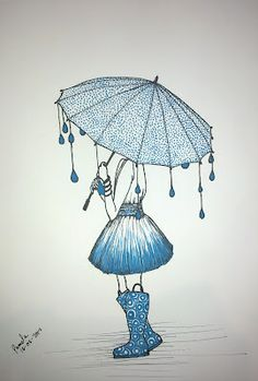 umbrella girl    by Pamela