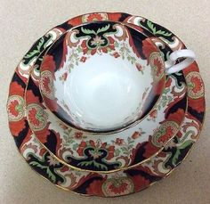 Vintage-Aynsley-Trio-Cup-Saucer-And-Tea-Plate-Patt-A4465