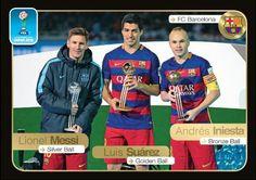646 Messi - Suarez - Iniesta FIFA 365 - 2016-2017