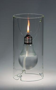 EdiSUN Oil Lamp, from German designer Marc Ostmann - MCA Store :: Museum of Contemporary Art, Chicago