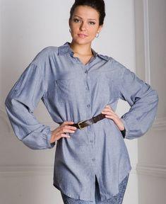 2e938478c74 10 modos para transformar camisas masculinas em roupas femininas! -  OlhaQueVideo.com.br