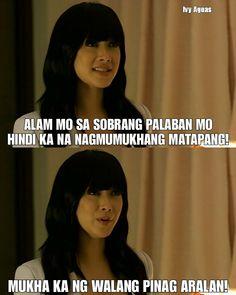 Tagalog Quotes Patama, Tagalog Quotes Funny, Pinoy Quotes, Jokes Quotes, Memes, Filipino Words, Filipino Funny, Best Motivational Quotes, Best Quotes